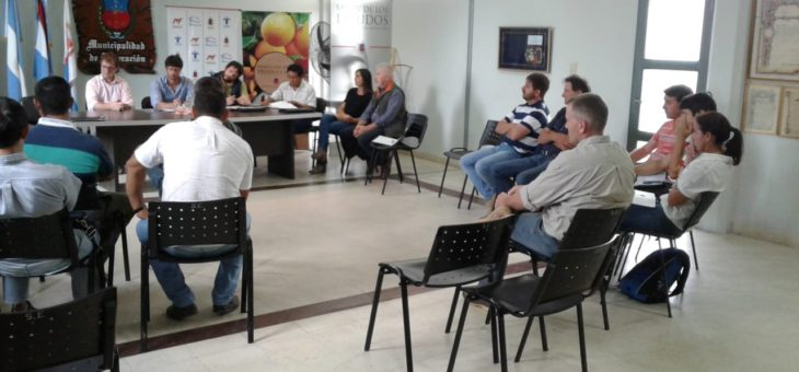 ENCUENTRO CON RESPONSABLES DE ÁREAS DE PRODUCCIÓN DE LOS MUNICIPIOS DE FEDERACIÓN